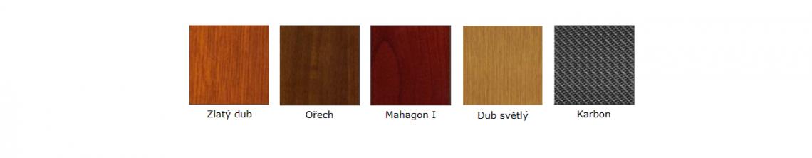 Barvy Decoral pro naklápěcí pergoly