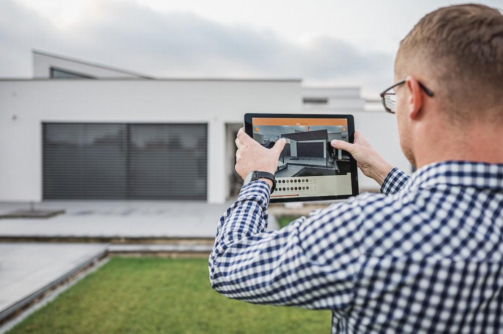 Sun System aplikace v tabletu