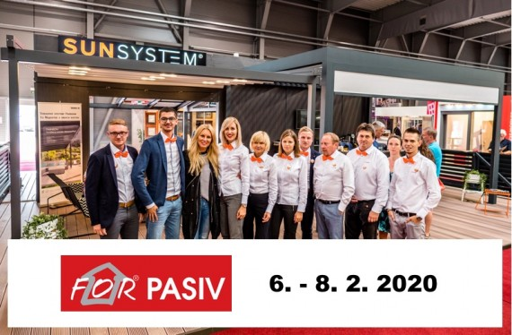 Zastavte se za námi na FOR PASIV 2020 v Praze