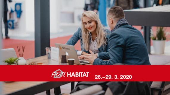 Zveme vás na FOR HABITAT/FOR INTERIOR/ Design Shaker 2020 v Praze - stáhněte si vstupenky zdarma